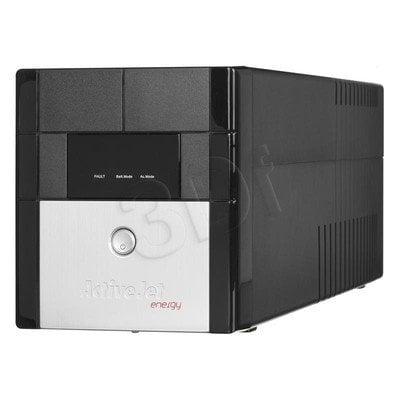 ActiveJet UPS AJE-1000VA LED/USB/4xIEC320/2x7Ah