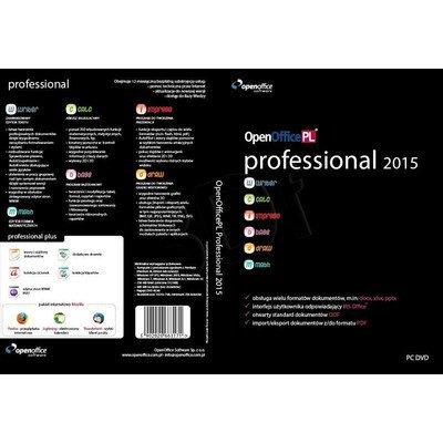 OPENOFFICEPL PROFESSIONAL 2015 BOX