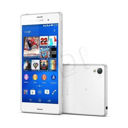"""Smartphone Sony Xperia Z3 Dual Sim (D6633) 16GB 5,2"""" biały LTE"""