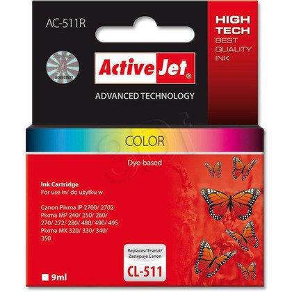 ActiveJet AC-511R tusz kolorowy do drukarki Canon (zamiennik Canon CL-511)
