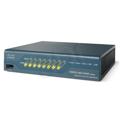CISCO ASA5505-UL-BUN-K9 Firewall 8 Port FE