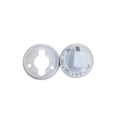 Zespół pokrętła białego do termostatu od 50-250 stopni PMG610.00/09.2772.01 (9042615)