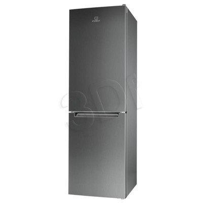 Chłodziarko-zamrażarka Indesit LI8 FF2I X (600x1890x630mm Inox A++)