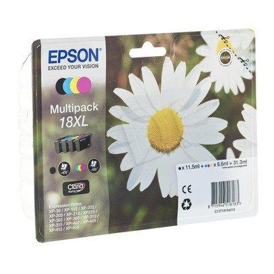 EPSON Tusz T1816=C13T18164010, Zestaw CMYK, T1811+T1812+T1813+T1814