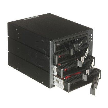 "BACKPLANE CHIEFTEC CBP-3141SAS 3x5,25"" ->4xHDD/SSD"