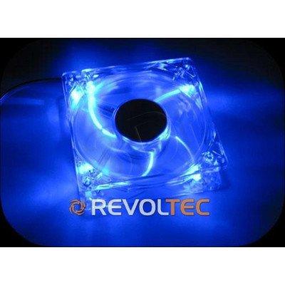 WENTYLATOR REVOLTEC (RL026) DARK BLUE - 120x120x25 - LED NIEBIESKIE