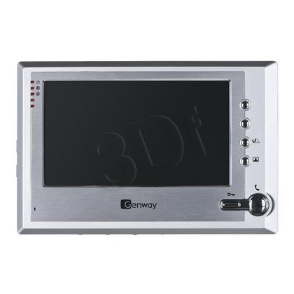 Zestaw wideodomofonowy F-S7V11 srebrno-grafitowy