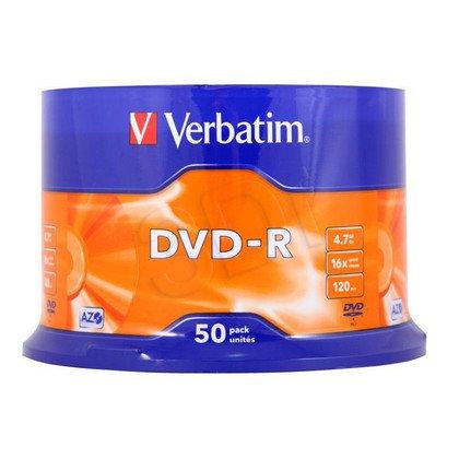 DVD-R VERBATIM 43548 4.7GB 16x CAKE 50 SZT
