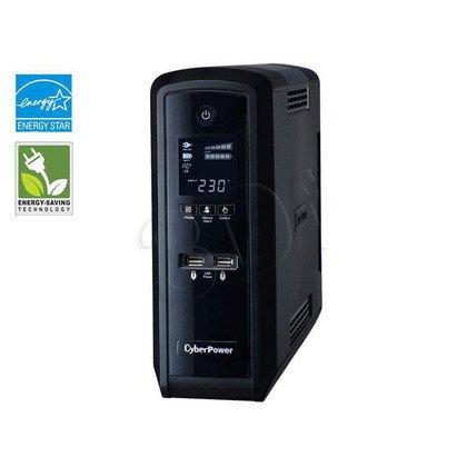 UPS CYBERPOWER CP1500EPFCLCD (VI, Tower, 1500VA, 900W, 6xSCHUKO (3+3 Backup), FL2min/HL11min)