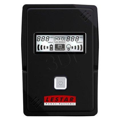 LESTAR UPS V-655S 650VA AVR LCD GF 2XSCH USB RJ 11