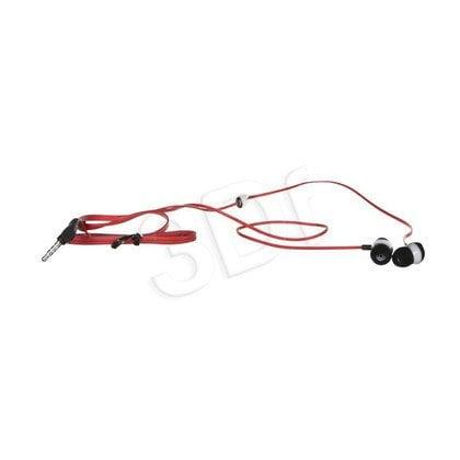 Słuchawki douszne z mikrofonem Blow B-12 (Czerwono-czarny)