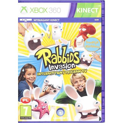 Gra Xbox 360 Rabbids Invasion Interaktywny program