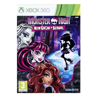 Gra Xbox 360 Monster High: New Ghoul In School