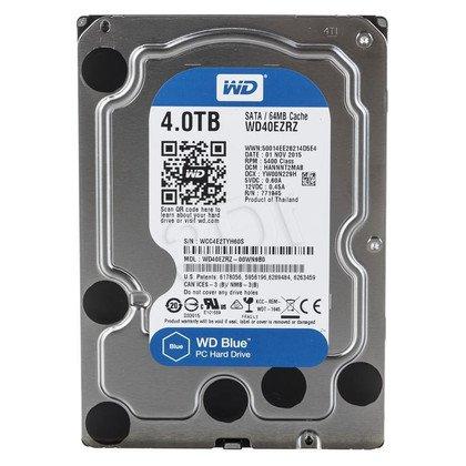 """Dysk HDD Western Digital BLUE 3,5"""" 4TB SATA III 64MB 5400obr/min WD40EZRZ"""