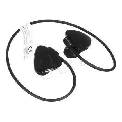 Słuchawki douszne z mikrofonem LENOVO P520 (Czarny Bluetooth)