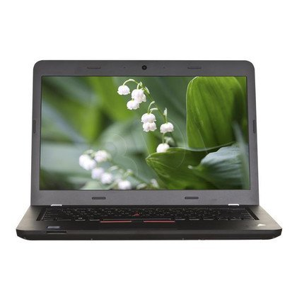 "LENOVO ThinkPad E560 i5-6200U 8GB 15,6"" FHD 1000GB HD 520 R7 M370 Win10P Czarny 20EV000SPB 1Y"