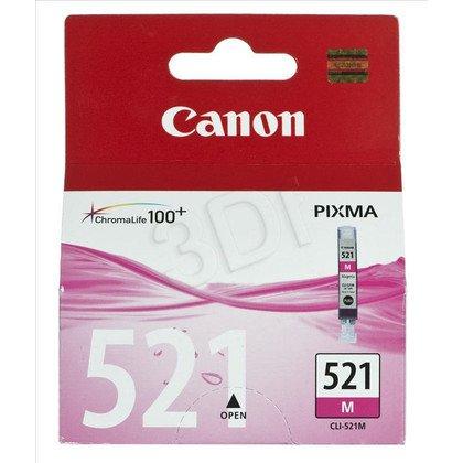 CANON Tusz Czerwony CLI-521M=CLI521M=2935B001, 350 str., 9 ml