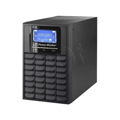 POWER WALKER UPS ON-LINE 3000VA 4X IEC OUT, USB/RS-232, LCD, TOWER