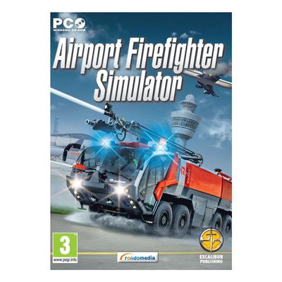 Gra PC Airport Firefighter Simulator (klucz do pobrania)