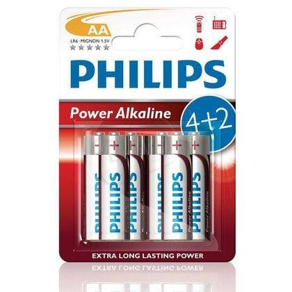 Philips Bateria alkaiczna LR6 blister 6szt.