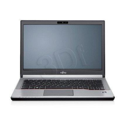 """Fujitsu LIFEBOOK E746 i5-6200U 8GB 14"""" FHD 256GB HD 520 3G Win10P Srebrny 2Y"""