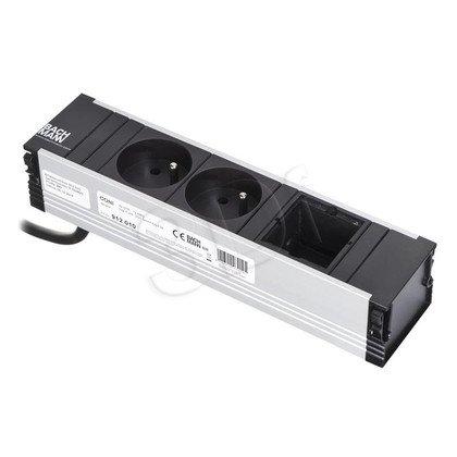 Bachmann 912.010 CONI - listwa zasilająca do krótkiej kasety. 2x gn. zasilające 1xwolne miejsce