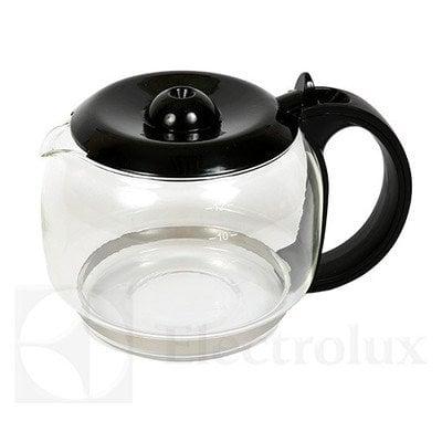 Czarny szklany dzbanek do ekspresu do kawy (4055164265)