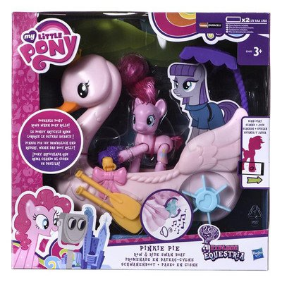 MLP MY LITTLE PONY ŁABĘDZIA ŁÓDKA PINKIE PIE HASBRO B3600