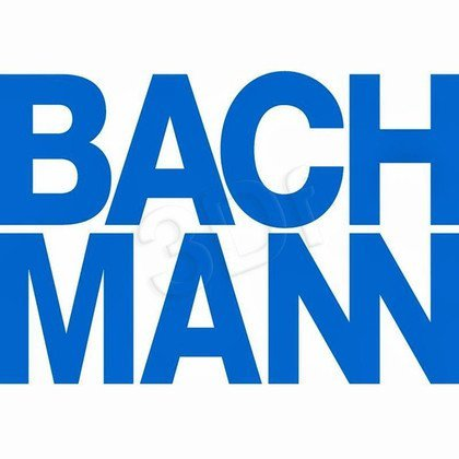 Bachmann 925.100 TOP FRAME - Obudowa kasety podbiurkowej bez ramki i klapki 4x, czarna