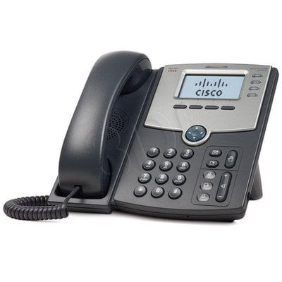 CISCO SPA504G TELEFON VoIP 2xRJ45/4 linie