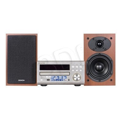 Mini wieża DENON RC-DM40 DAB Silver + SCM-40 Cherry