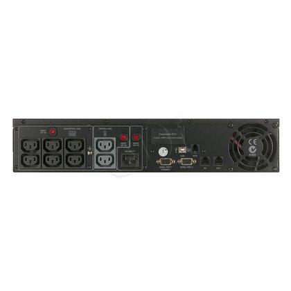 UPS CYBERPOWER PR1500ELCDRT2U (VI, Rack/Tower, 1500VA, 1350W, 8xIEC (8x Backup), FL6min/HL18min)