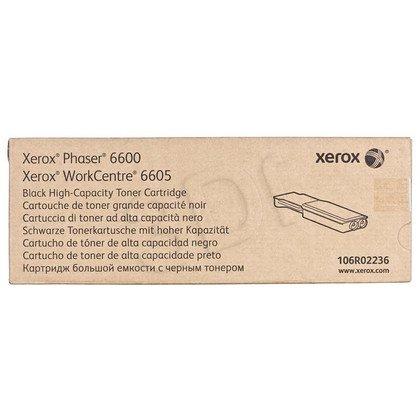 XEROX Toner Czarny 106R02236=Phaser 6600, WorkCentre WC6605, 8000 str., wydajny