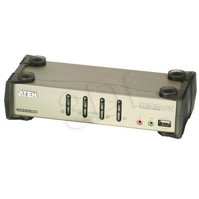 ATEN KVM 4/1 CS-1734B USB PS/ 2Audio CS-1734B