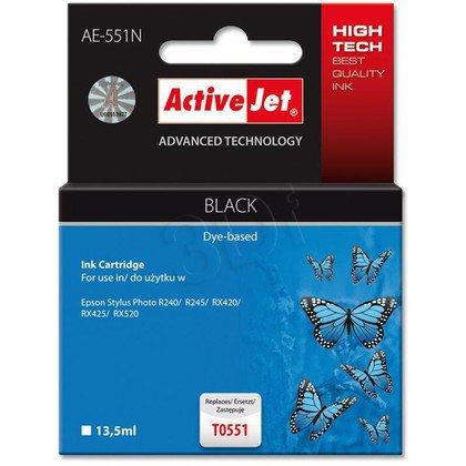 ActiveJet AE-551N (AE-551) tusz czarny pasuje do drukarki Epson (zamiennik T0551)