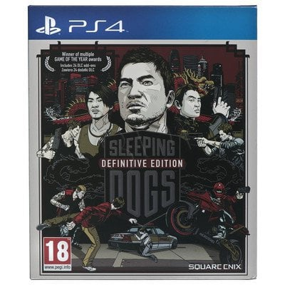 Gra PS4 Sleeping Dogs Definitive Edition