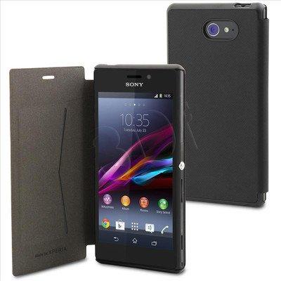 "Muvit Etui do telefonu Ultra Slim 4,8"" Xperia M2 czarne"