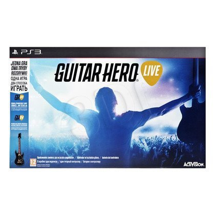 Gra GP3 Guitar Hero Live + gitara