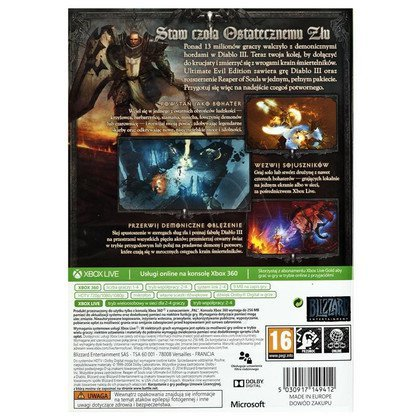 Gra Xbox 360 Diablo 3 Ultimate Evil Edition