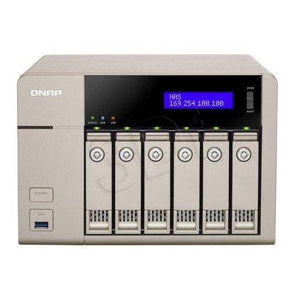 QNAP serwer NAS TVS-663 Tower
