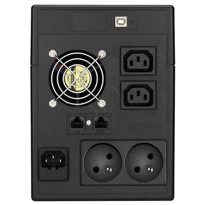LESTAR UPS MC-1500FU 1500VA AVR 2XFR + 2XIEC USB