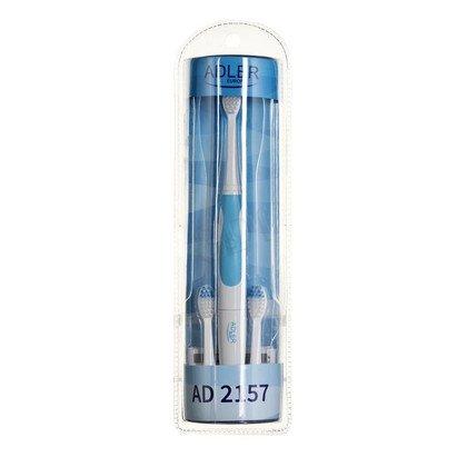 Szczoteczka Elektryczna Adler AD 2157 (Biało-niebieska)