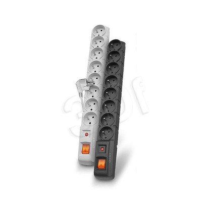 ACAR S8-listwa przeciwprzepięciowa,8gniazd/1,5m/sz