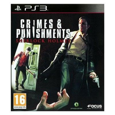 Gra PS3 Sherlock Holmes Zbrodnia i kara