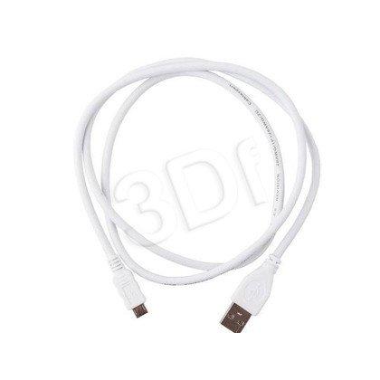 GEMBIRD KABEL MIKRO USB 2.0 0.5M BIAŁY