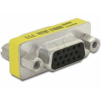 ADAPTER DELOCK GENDER CHANGER HD15-PIN F/HD15-PIN F