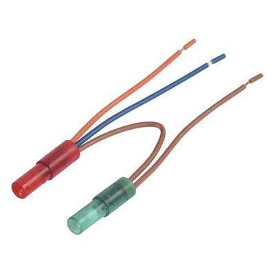 Lampka (kontrolka czerwona+zielona) zamrażarki Whirlpool (481213448371)