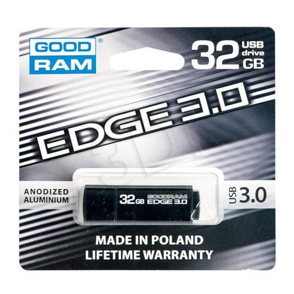 GOODRAM FLASHDRIVE 32GB USB 3.0 EDGE BLACK