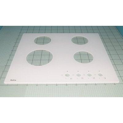 Płyta robocza - szyba biała l.Amica 4.1 (1033867)