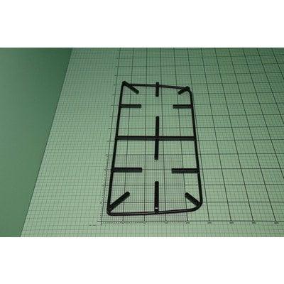 Ruszt 57Gv2 prosty emaliowany czarny mat prawy (9070744)